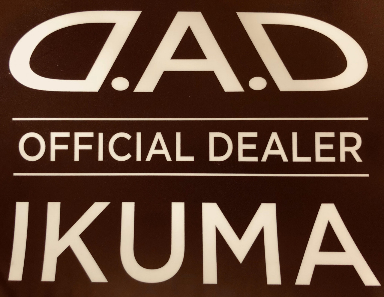 D.A.D OFFICIAL DEALER IKUMA